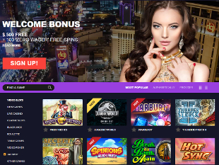 Crazy Vegas Casino Home