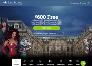 Euro Palace Casino Home
